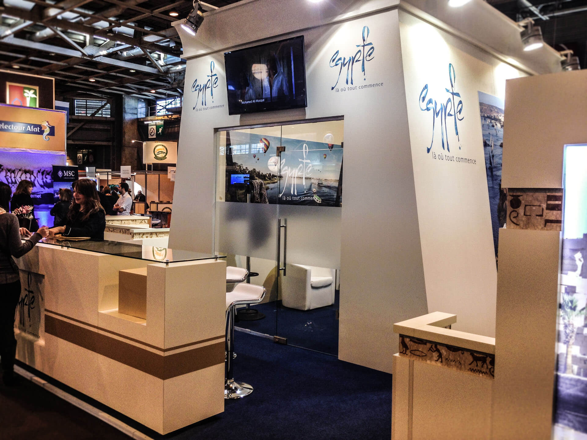 Xds expo design system for Salon mondial du tourisme paris