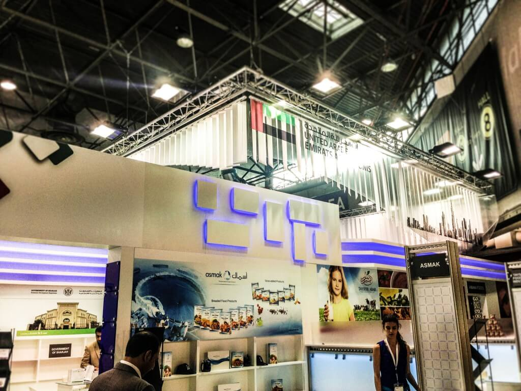 2- UNITED EMIRATES PAVILION - SIAL 2014 - Paris France