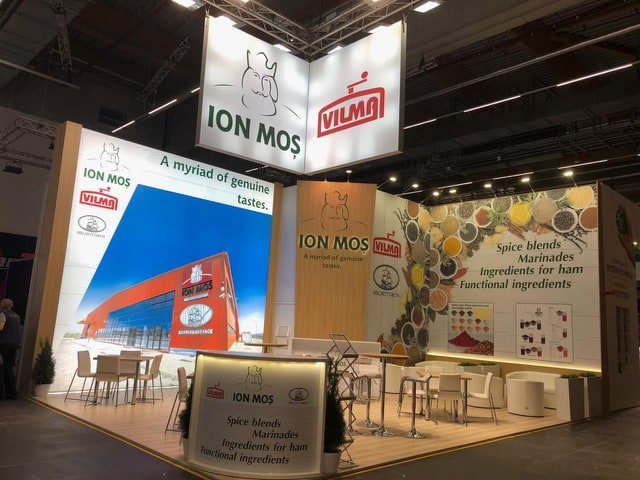 FI Europe & Ni Paris exhibition stand builder