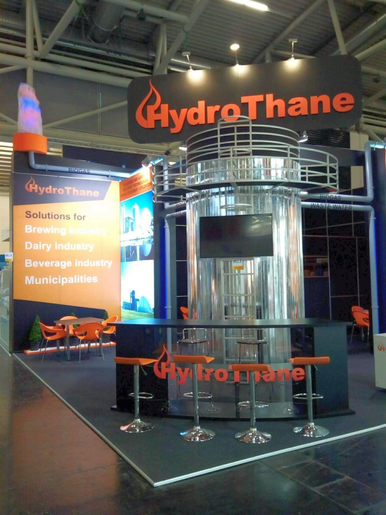 Hydrothane Ifat 2 exhibition stand builder