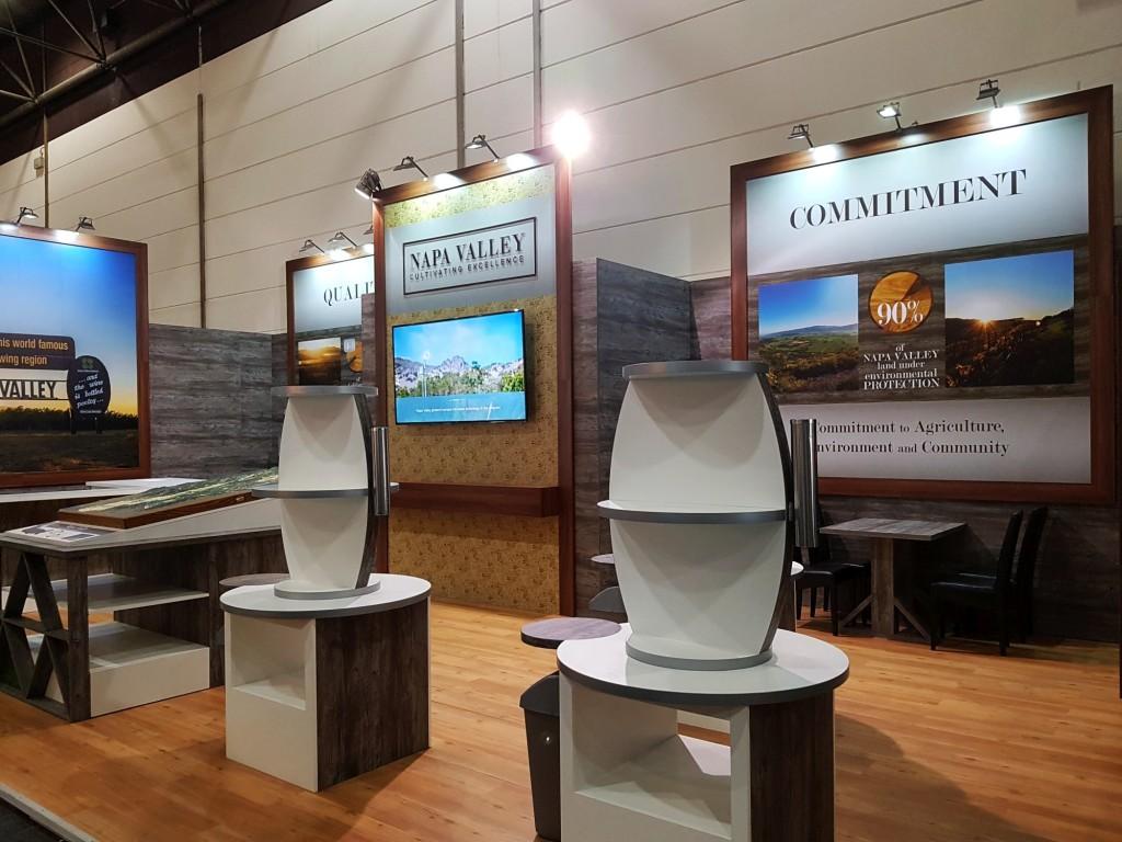 exhibition stand builder ProWein Dusseldorf