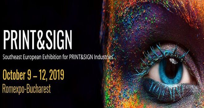 PRINT&SIGN 2019 Bucharest stand builder