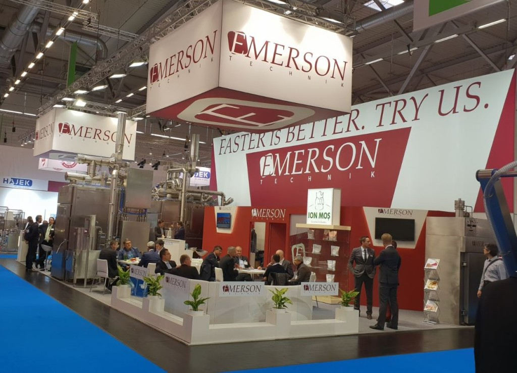 emerson technik stand anuga foodtec cologne