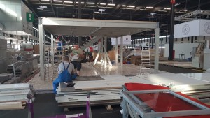 Stand builder in France