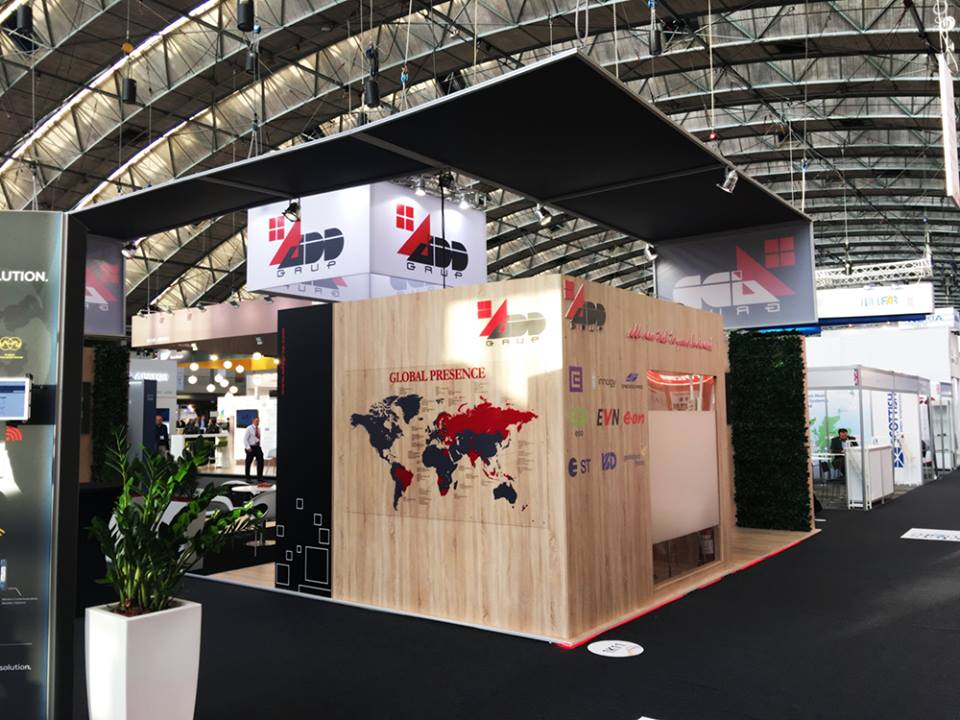 European Utility Week 2019 exhibition stand builder