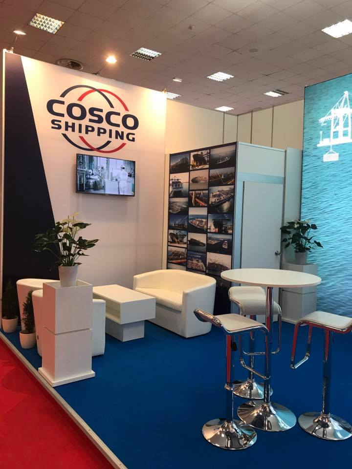 cosco shipping lines booth xds